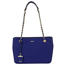 Buy DKNY Bryant Park Saffiano Leather Chain Shopper Bag Online at johnlewis.com