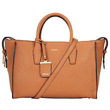 Buy DKNY Chelsea Vintage Leather East/West Shopper Bag Online at johnlewis.com
