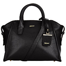 Buy DKNY Chelsea Vintage Leather Satchel Online at johnlewis.com