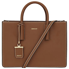 Buy DKNY Bryant Park Woven Edge Saffiano Leather Shopper Bag Online at johnlewis.com