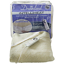 Buy Dreamland 16212 Electric Double Underblanket, Natural Online at johnlewis.com