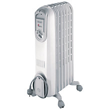 Buy De'Longhi Vento V550715 Oil-Filled Radiator Online at johnlewis.com