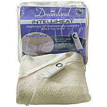 Buy Dreamland 16211 Electric Single Underblanket, Natural Online at johnlewis.com