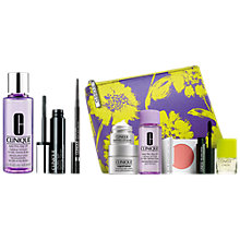 Buy Clinique Skinny Stick, Slimming Black and Chubby Lash Fattening Mascara, Jet and Take The Day Off Makeup Remover For Lids, Lashes & Lips - All Skin Types, 125ml with FREE Clinique Bonus Time Gift Online at johnlewis.com
