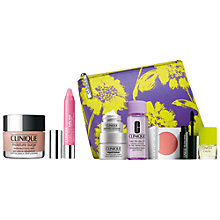 Buy Clinique Chubby Stick Baby Tint Lipgloss, Budding Blossom and Moisture Surge Extended Thirst Relief - All Skin Types, 50ml with FREE Clinique Bonus Time Gift Online at johnlewis.com