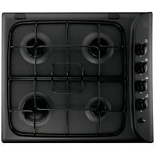 Buy Hotpoint G640SK Gas Hob Blk Online at johnlewis.com