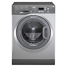 Buy Hotpoint Aquarius WMAQF721G Washing Machine, Graphite Online at johnlewis.com
