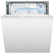 Buy Indesit DIF16M1 Integrated Dishwasher, White Online at johnlewis.com