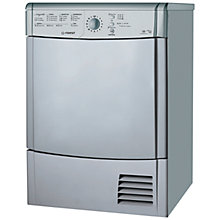 Buy Indesit IDCL85BHS Condenser Tumble Dryer, 8kg Load, B Energy Rating, Silver Online at johnlewis.com