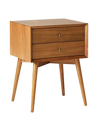west elm Mid-Century Bedside Table, FSC Certified (Eucalyptus)