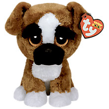 Buy Ty Beanie Boo Brutus Soft Toy, 24cm Online at johnlewis.com