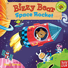 Buy Bizzy Bear Space Rocket Children's Book Online at johnlewis.com