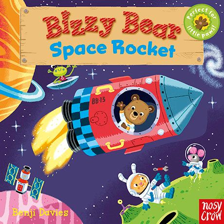 Nosy Crow Bizzy Bear Space Rocket Children's Book