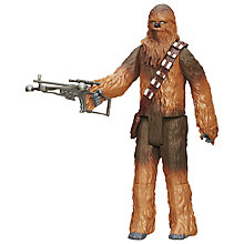 Buy Star Wars Episode VII: The Force Awakens Chewbacca Figure Online at johnlewis.com