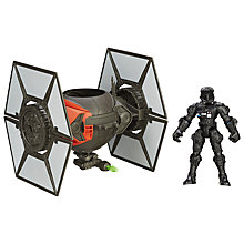 Buy Star Wars Episode VII: The Force Awakens TIE Fighter & Pilot Hero Mashers Online at johnlewis.com
