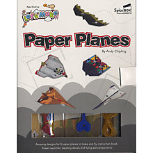 Buy Let's Make It Paper Planes Designer Book Kit Online at johnlewis.com