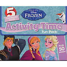 Buy Disney Frozen Activity Time Fun Pack Online at johnlewis.com