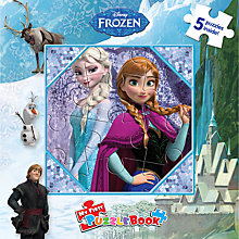 Buy Disney Frozen Puzzle Book Online at johnlewis.com