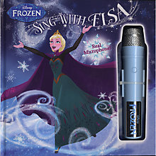 Buy Disney Frozen Sing With Elsa Book With Microphone Online at johnlewis.com