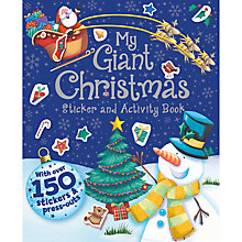 Buy My Giant Christmas Sticker and Activity Book Online at johnlewis.com