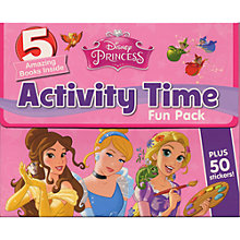 Buy Disney Princess Activity Time Fun Pack Online at johnlewis.com
