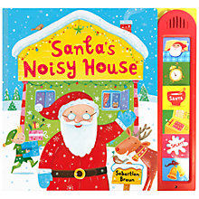 Buy Santa's Noisy House Sound Christmas Book Online at johnlewis.com