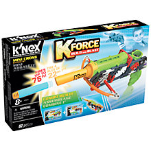 Buy K'Nex K Force Build And Blast Mini Cross Construction Set, 82 Pieces Online at johnlewis.com