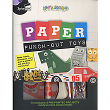 Buy Paper Punch Out Toys Kit Online at johnlewis.com