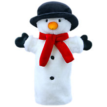 Buy Puppet Company Snowman Christmas Soft Toy Online at johnlewis.com