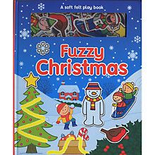 Buy Fuzzy Christmas Felt Book Online at johnlewis.com