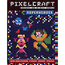 Buy Pixelcraft Superheros Book Online at johnlewis.com