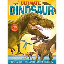 Buy Ultimate Dinosaur Activity Book Online at johnlewis.com