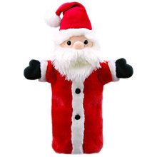 Buy Puppet Company Santa Claus Christmas Soft Toy Online at johnlewis.com