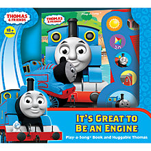 Buy Thomas & Friends It's Great To Be An Engine Song Book and Cuddly Thomas Soft Toy Online at johnlewis.com