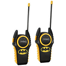Buy Batman Walkie-Talkies, 2 Pack Online at johnlewis.com