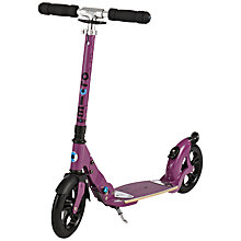 Buy Micro Flex Deluxe Scooter, Adult, Aubergine Online at johnlewis.com