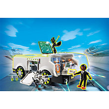 Buy Playmobil Super 4 Techno Chameleon Vehicle Play Set Online at johnlewis.com