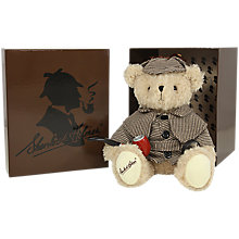 Buy Sherlock Holmes Teddy Bear Soft Toy Online at johnlewis.com