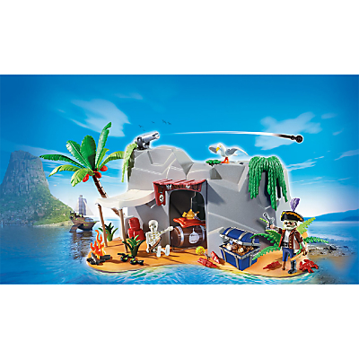 Click here for Playmobil Super 4 Pirate Cave Play Set