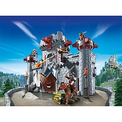Click here for Playmobil Super 4 Take Along Black Baron's Castle Set