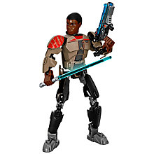 Buy LEGO Star Wars 75116 Finn Buildable Action Figure Online at johnlewis.com