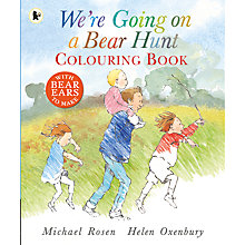 Buy We're Going On A Bear Hunt Colouring Book Online at johnlewis.com