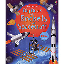 Buy Usborne Big Book Of Rockets And Spacecraft Online at johnlewis.com
