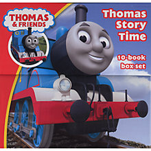Buy Thomas & Friends Story Time 10 Book Box Set Online at johnlewis.com