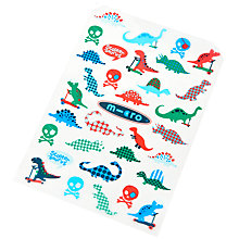 Buy Micro Scooters Pirates & Dino Stickers Pack Online at johnlewis.com
