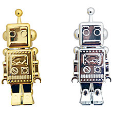 Buy Seedling Metallic Retro Robot Pen, Assorted Online at johnlewis.com