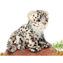Buy Hansa Snow Leopard Cub Soft Toy, 18cm Online at johnlewis.com