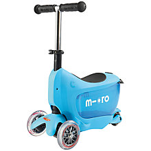 Buy Micro Mini 2 Go Scooter, Blue Online at johnlewis.com