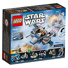 Buy LEGO Star Wars Resistance X-wing Fighter Microfighter Online at johnlewis.com