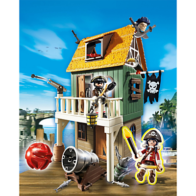 Click here for Playmobil Super 4 Camouflage Pirate Fort With Ruby Set